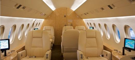 Jet Privato Falcon : Jet privati in sardegna